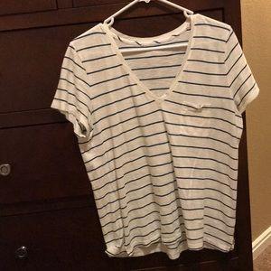 Madewell striped T